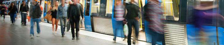 通勤途中でパニック障害に襲われ遅刻気味に